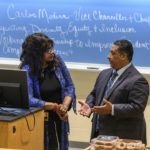 Dr. Chambers and Dr. Medina talk