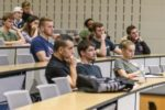 Students attend lecture