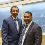 HVCC President Dr. Ramsammy and Dr. Medina